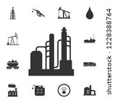 refinery icon. simple element... | Shutterstock . vector #1228388764
