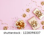 fashion gifts or presents boxes ... | Shutterstock . vector #1228398337