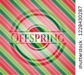offspring christmas emblem... | Shutterstock .eps vector #1228430287