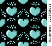 seamless pattern  cute heart.... | Shutterstock .eps vector #1228438111
