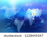 global media technologies | Shutterstock . vector #1228445347