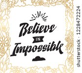 inspirational quote  motivation.... | Shutterstock .eps vector #1228472224