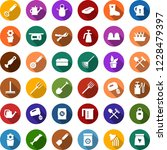 color back flat icon set  ... | Shutterstock .eps vector #1228479397