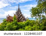 pattaya sanctuary of truth | Shutterstock . vector #1228481107