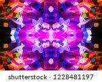 beautiful multicolored lines...   Shutterstock . vector #1228481197