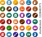 color back flat icon set  ... | Shutterstock .eps vector #1228481971
