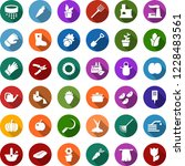 color back flat icon set  ... | Shutterstock .eps vector #1228483561
