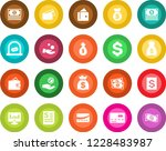 round color solid flat icon set ... | Shutterstock .eps vector #1228483987
