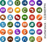 color back flat icon set  ... | Shutterstock .eps vector #1228485994