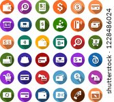 color back flat icon set  ... | Shutterstock .eps vector #1228486024
