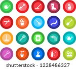 round color solid flat icon set ... | Shutterstock .eps vector #1228486327