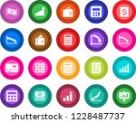 round color solid flat icon set ... | Shutterstock .eps vector #1228487737