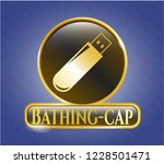 gold badge or emblem with...   Shutterstock .eps vector #1228501471