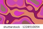 background in paper style. | Shutterstock . vector #1228510054