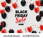 black friday sale banner  black ... | Shutterstock .eps vector #1228543231