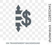 operating profit loss icon.... | Shutterstock .eps vector #1228552441
