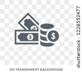 money supply icon. trendy flat... | Shutterstock .eps vector #1228552477