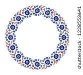 floral pattern for your design. ... | Shutterstock .eps vector #1228553641