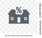 interest only mortgage icon....   Shutterstock .eps vector #1228559584