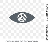 smart lens icon. trendy flat... | Shutterstock .eps vector #1228559641