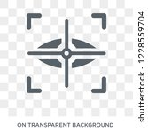 eye scan icon. trendy flat... | Shutterstock .eps vector #1228559704
