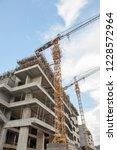 buildings under construction | Shutterstock . vector #1228572964
