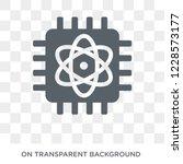 quantum computing icon. trendy... | Shutterstock .eps vector #1228573177