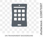 mobile flexible display icon.... | Shutterstock .eps vector #1228573207