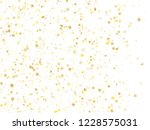 flying gold star sparkle vector ... | Shutterstock .eps vector #1228575031
