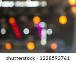 bokeh from light on stage as... | Shutterstock . vector #1228592761