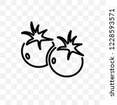 tomato vector linear icon...   Shutterstock .eps vector #1228593571