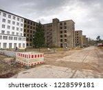 restoration of flat houses.... | Shutterstock . vector #1228599181