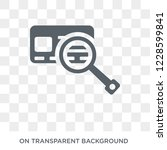 credit reference agency icon.... | Shutterstock .eps vector #1228599841