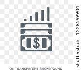 capital gain icon. capital gain ... | Shutterstock .eps vector #1228599904