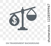 balance of payments icon.... | Shutterstock .eps vector #1228599967