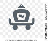 wedding carriage icon. wedding...   Shutterstock .eps vector #1228601944