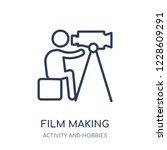 film making icon. film making... | Shutterstock .eps vector #1228609291