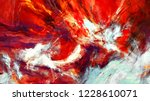 abstract flame background.... | Shutterstock . vector #1228610071
