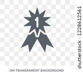 insignia icon. insignia design... | Shutterstock .eps vector #1228612561