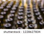 wine bottles abstract blurred...   Shutterstock . vector #1228627834