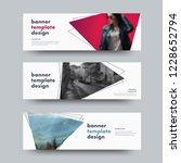 design of vector white... | Shutterstock .eps vector #1228652794