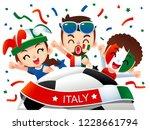 vector illustration of italy... | Shutterstock .eps vector #1228661794