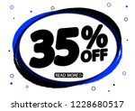 sale 35  off tag   discount...   Shutterstock .eps vector #1228680517