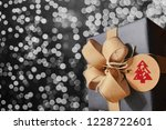 christmas and gift package | Shutterstock . vector #1228722601
