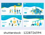 website and mobile website... | Shutterstock .eps vector #1228726594