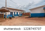 african hospital in ivory coast | Shutterstock . vector #1228745737
