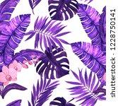 watercolor seamless pattern... | Shutterstock . vector #1228750141