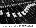 professional audio sound mixing ... | Shutterstock . vector #1228766161