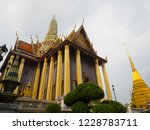 bangkok  thailand.   on october ... | Shutterstock . vector #1228783711
