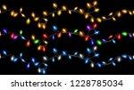 set of christmas festive... | Shutterstock . vector #1228785034
